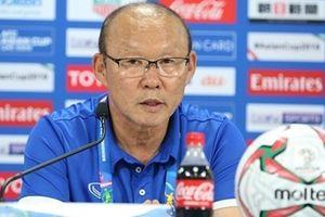 HLV Park Hang Seo thừa nhận Iraq thắng xứng đáng