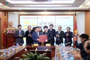 VOV và Bộ Văn hóa - Thể thao - Du lịch ký kết hợp tác truyền thông