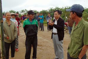 Quảng Nam: Người dân phản đối dự án nạo vét lạch nước Khe Gai
