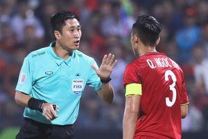 Trọng tài Trung Quốc gây tranh cãi ở Asian Cup 2019