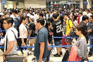 Chưa vào cao điểm Tết, sân bay Tân Sơn Nhất đã 'dự kiến' đạt kỷ lục?