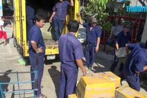 Phát hiện hàng chục kiện hàng không rõ nguồn gốc tại ga Sài Gòn
