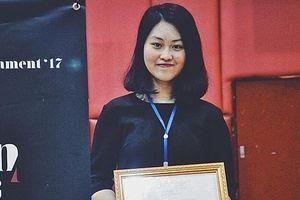Nữ sinh tài năng của Hà Nội đạt học bổng gần 6 tỷ đồng của trường ĐH Mỹ