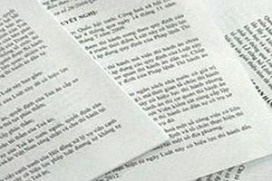 Hà Nội: Bảo đảm rà soát, hệ thống văn bản quy phạm pháp luật theo đúng quy định