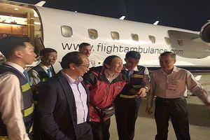 3 du khách cuối cùng trong vụ đánh bom tại Ai Cập về đến Việt Nam