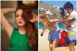 Ấm ức vì từng bị bạn trai bạo hành trên bờ biển, Lindsay Lohan trở lại mua luôn cả bãi biển
