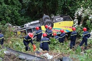 Khởi tố vụ tài xế xe khách lao xuống đèo Hải Vân khiến 22 người thương vong