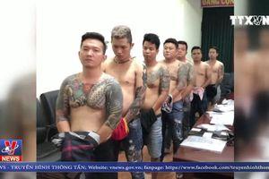 Bắt băng giang hồ Vũ 'bông hồng' tại TP Hồ Chí Minh