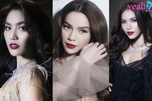 Ngắm loạt khoảnh khắc 'mê hồn' của Hà Hồ, Lan Khuê, Minh Tú trong show thời trang của Lý Quí Khánh