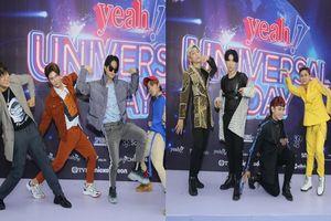 Zero9 và Uni5 cùng bắt trend tạo dáng lạ lùng chiếm trọn spotlight trên thảm xanh Yeah1 Universal Day