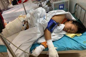 Hà Nam: Cay đắng cảnh gia đình nghèo khó, 3 mẹ con cùng bỏng xăng nặng