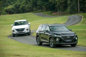 Giá lăn bánh xe Hyundai Santa Fe 2019