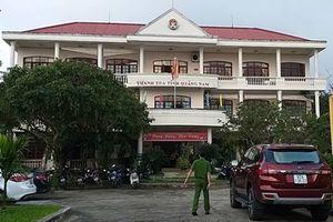 Phó Chánh thanh tra tỉnh Quảng Nam đột tử tại cơ quan