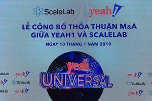 Yeah1 Group (YEG) mua lại ScaleLab (Mỹ), mạng lưới youtube với 3 tỷ view/tháng