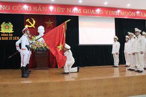 Công bố quyết định thành lập đội nghiệp vụ mới - CAQ Nam Từ Liêm