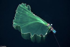Ảnh thả lưới ở Việt Nam đoạt giải nhì cuộc thi flycam quốc tế