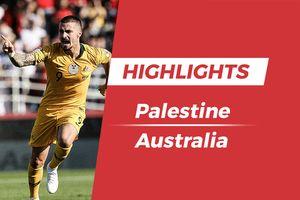 Highlights Asian Cup 2019: Palestine 0-3 Australia
