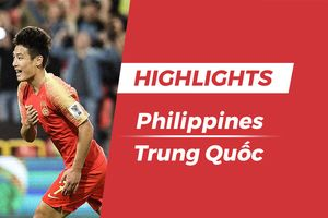 Highlights Asian Cup 2019: Philippines 0-3 Trung Quốc