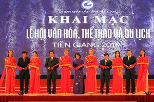 Khai mạc Lễ hội Văn hóa, Thể thao và Du lịch tỉnh Tiền Giang