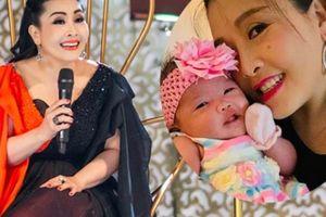 Diễn viên hài Kiều Oanh trở lại sân khấu sau 5 tháng sinh con tại Mỹ