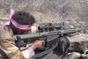 Phiến quân Houthi tung video xạ thủ bắn tỉa 'làm cỏ' lính Ả Rập