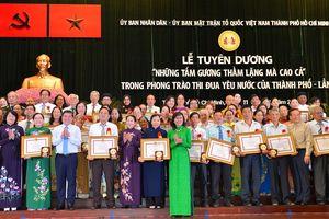 TPHCM tôn vinh 96 gương 'Thầm lặng mà cao cả'