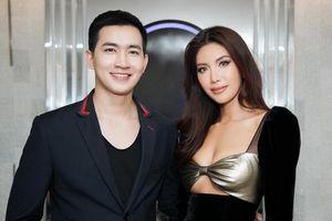 Minh Tú diện đầm siêu sexy sánh đôi cùng trai đẹp Võ Cảnh