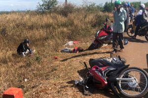 Bị xe tải tông, 3 chị em chết thảm trên quốc lộ