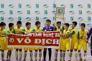 Bóng đá trẻ Nghệ An duy trì mục tiêu thắng trên 'sân nhà'