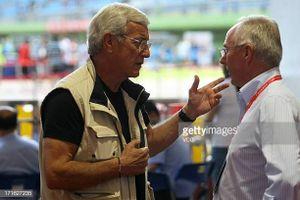 Khi hai người bạn già Marcello Lippi và Sven Eriksson đối đầu ở đấu trường châu Á