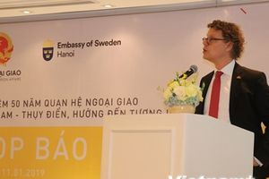 Chuỗi sự kiện kỷ niệm 50 năm quan hệ ngoại giao Việt Nam-Thụy Điển