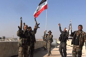 Lính Mỹ yêu cầu quân đội Syria hạ cờ nhưng bị từ chối
