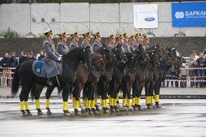 Ấn tượng với các quân nhân của Trung đoàn Tổng thống Nga