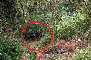 Hoảng hồn phát hiện cô gái tử vong trong xe ô tô dưới vực sâu