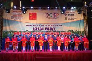 Hà Nội Khai mạc Hội chợ OCOP Quảng Ninh - Xuân 2019