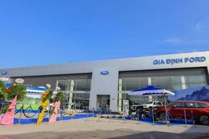 Ford khai trương đại lý 4 triệu đô hiện đại nhất Việt Nam