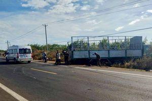 Xe tải bất ngờ chuyển hướng đâm trực diện xe máy, 3 chị em chết thương tâm