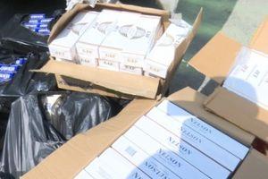 An Giang: Bắt giữ xe chở gần 9.000 bao thuốc lá ngoại nhập lậu
