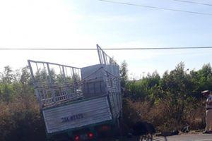 Gia Lai: Xe máy va chạm xe tải, 3 chị em tử vong thương tâm
