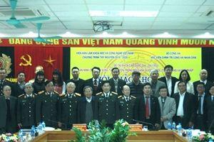 Hội thảo 'Bối cảnh quốc tế mới và những tác động, ảnh hưởng đến an ninh chính trị Việt Nam'