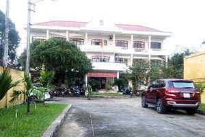 Khám nghiệm hiện trường vụ Phó Chánh Thanh tra Quảng Nam tử vong