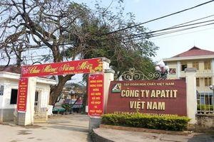 Công ty Apatit Việt Nam bị phạt hơn 300 triệu đồng