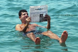 Biển Chết - nơi du khách muốn cũng không thể chìm