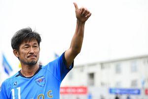 Huyền thoại Nhật Bản tiếp tục chơi bóng chuyên nghiệp ở tuổi 52
