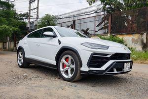 Lamborghini Urus của đại gia Minh nhựa ra biển số