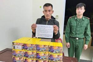 Dùng ghe chở pháo lậu từ Lào về Việt Nam trên sông SêPôn