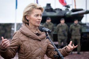Đức thừa nhận: Quân đội chung châu Âu đã hình thành
