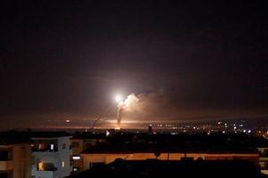Israel bắn tên lửa nhằm vào thủ đô của Syria