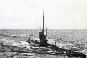 Xác tàu ngầm Đức lộ diện sau 102 năm bị mắc cạn