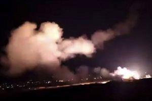 Syria công bố video tên lửa Israel bị đánh chặn